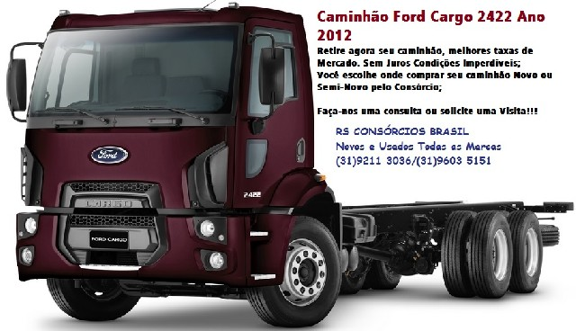 Foto 1 - Ford cargo 2422